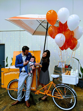 Vintage ice cream cart hire Melbourne Wedding