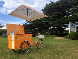 Gelato stand cart hire Melbourne wedding