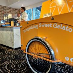 Gelato stand hire at Melbourne wedding