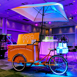 Something Sweet Gelato Cart Hire Melbourne