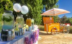 Ice cream trolley hire Melbourne wedding