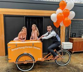 Ice cream cart Melbourne Wedding
