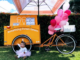 Vintage ice cream cart hire Melbourne