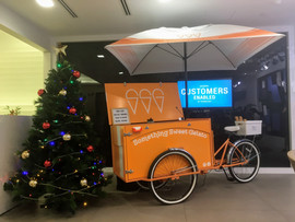Office party ice cream cart hire Melbourne