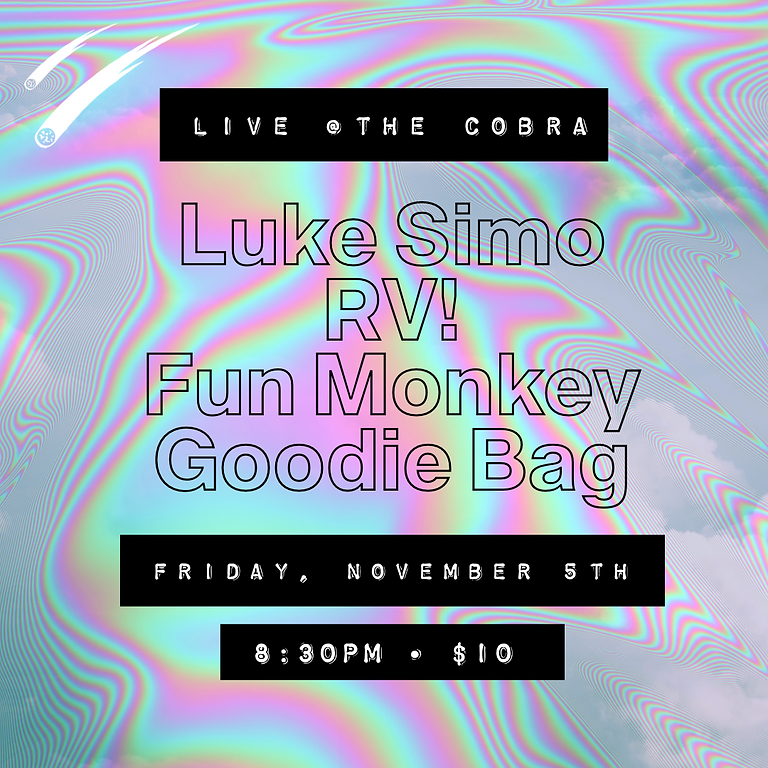 Live @The Cobra!