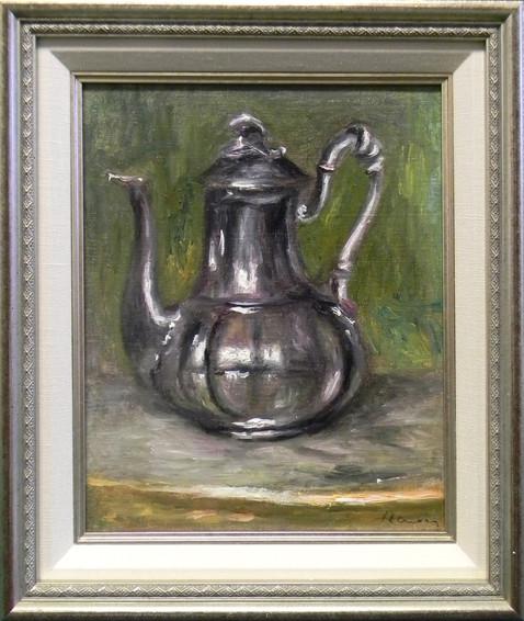 La Cafetiere By Pierre-Auguste Renoir