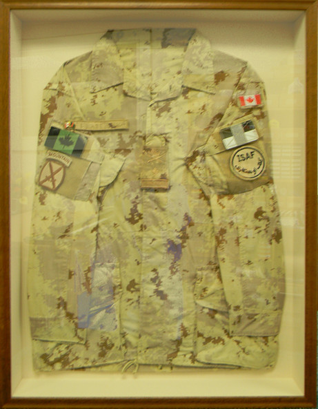 Canadian Forces Afghanistan Jacket