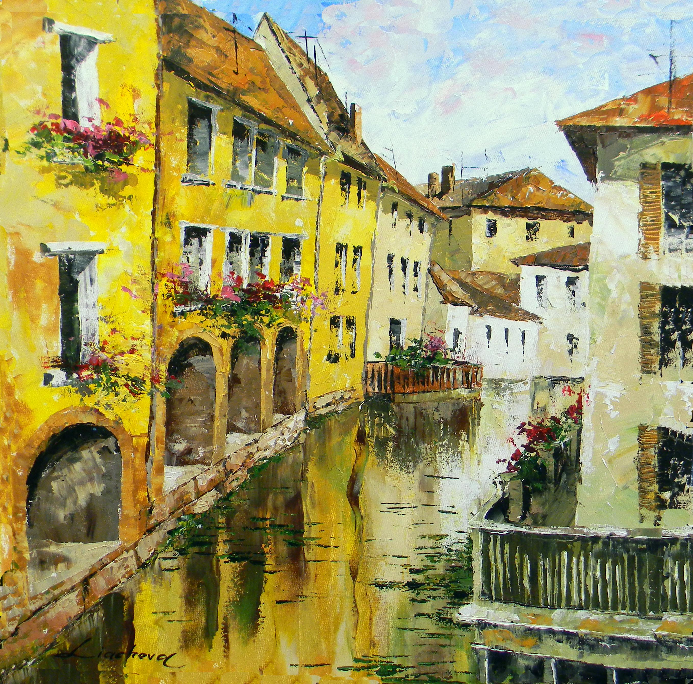 Italy, Tuscany, Reflection