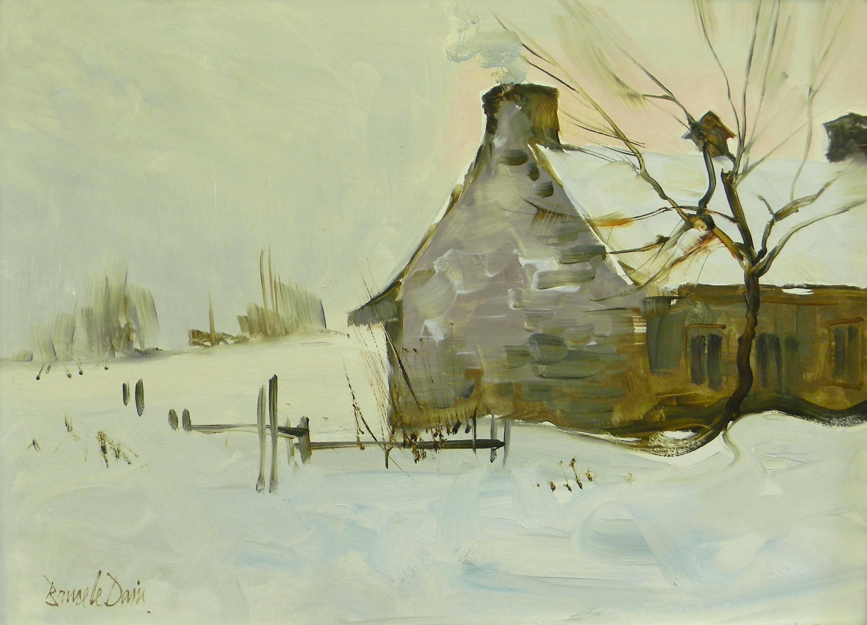 Winter Bound, Farmstead, Quebec