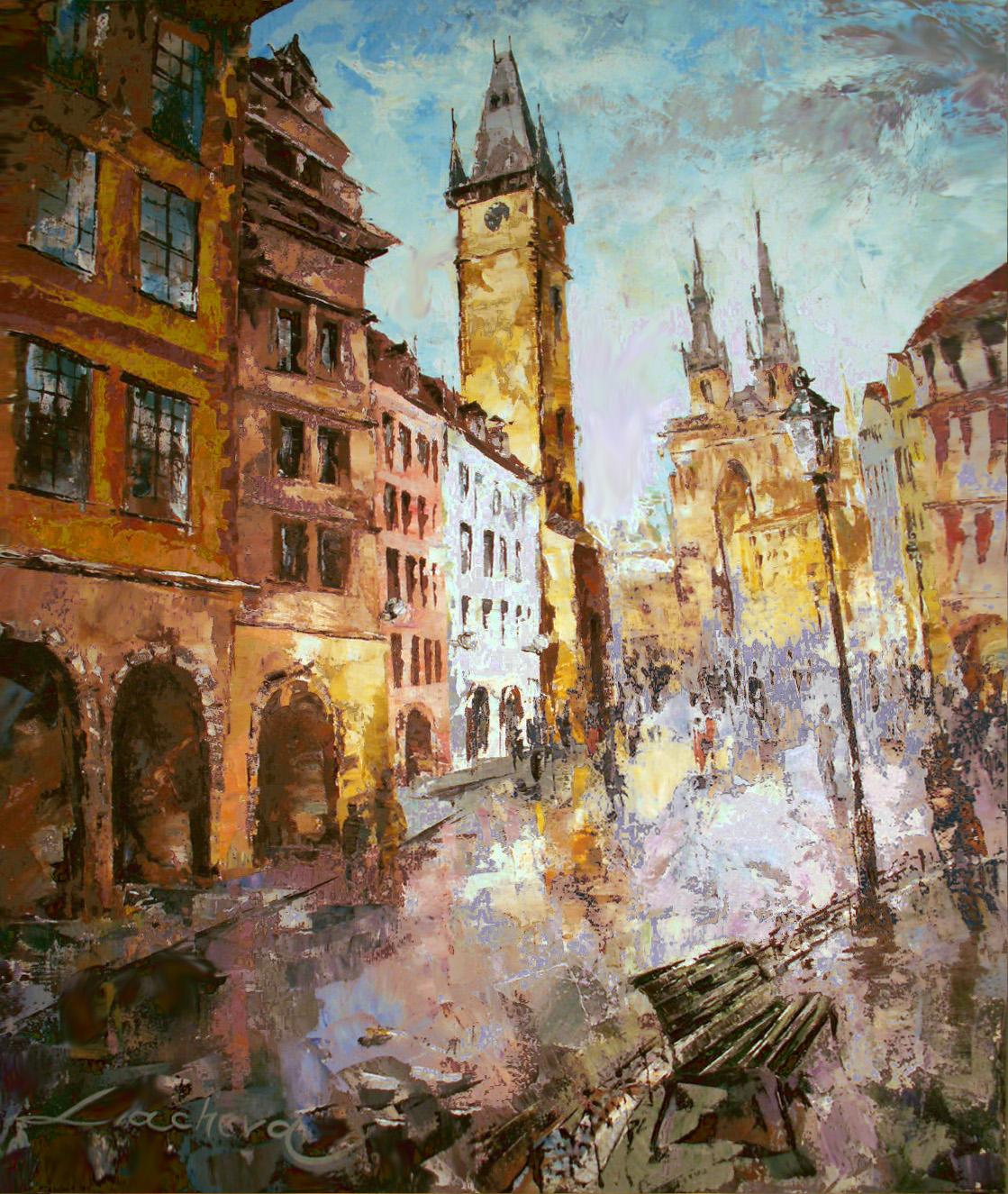 Prague, After The Rain