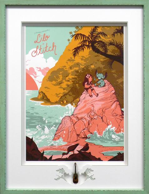 Lilo And Stitch Mondo Print