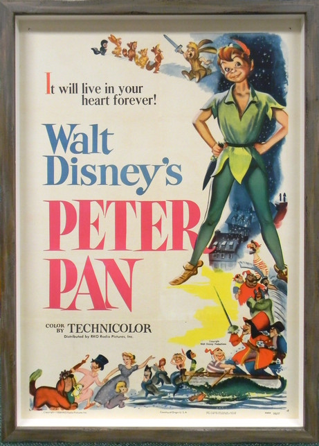 Peter Pan Original Release Poster