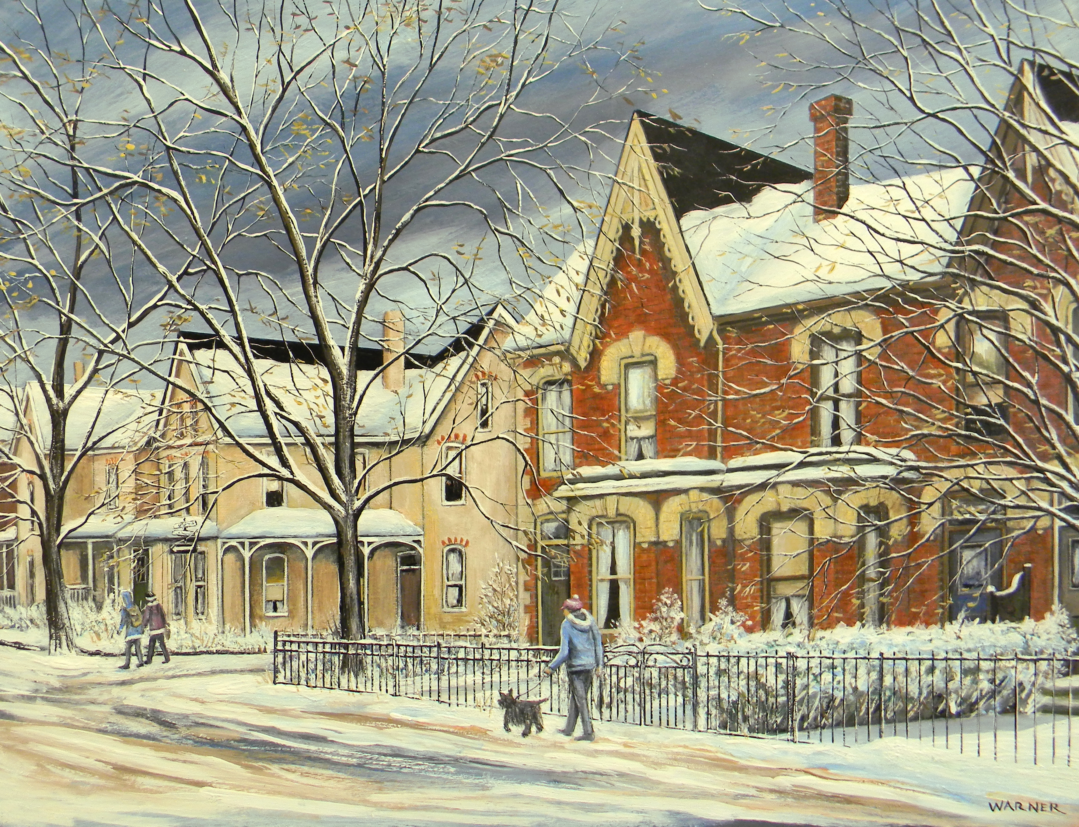 After The Snowstorm - (Corner of Hazelton Ave. and Berryman St.) Toronto