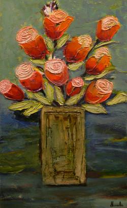 Les Tulipes Rouge