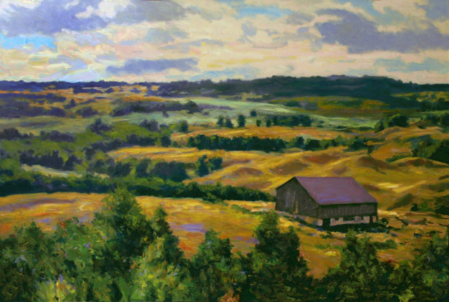 Lavender Hill, Moraines