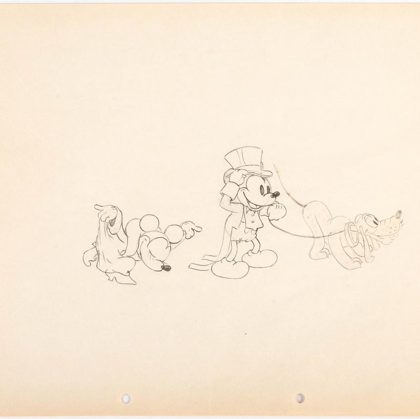 Mickey, Minny, and Pluto - 1933