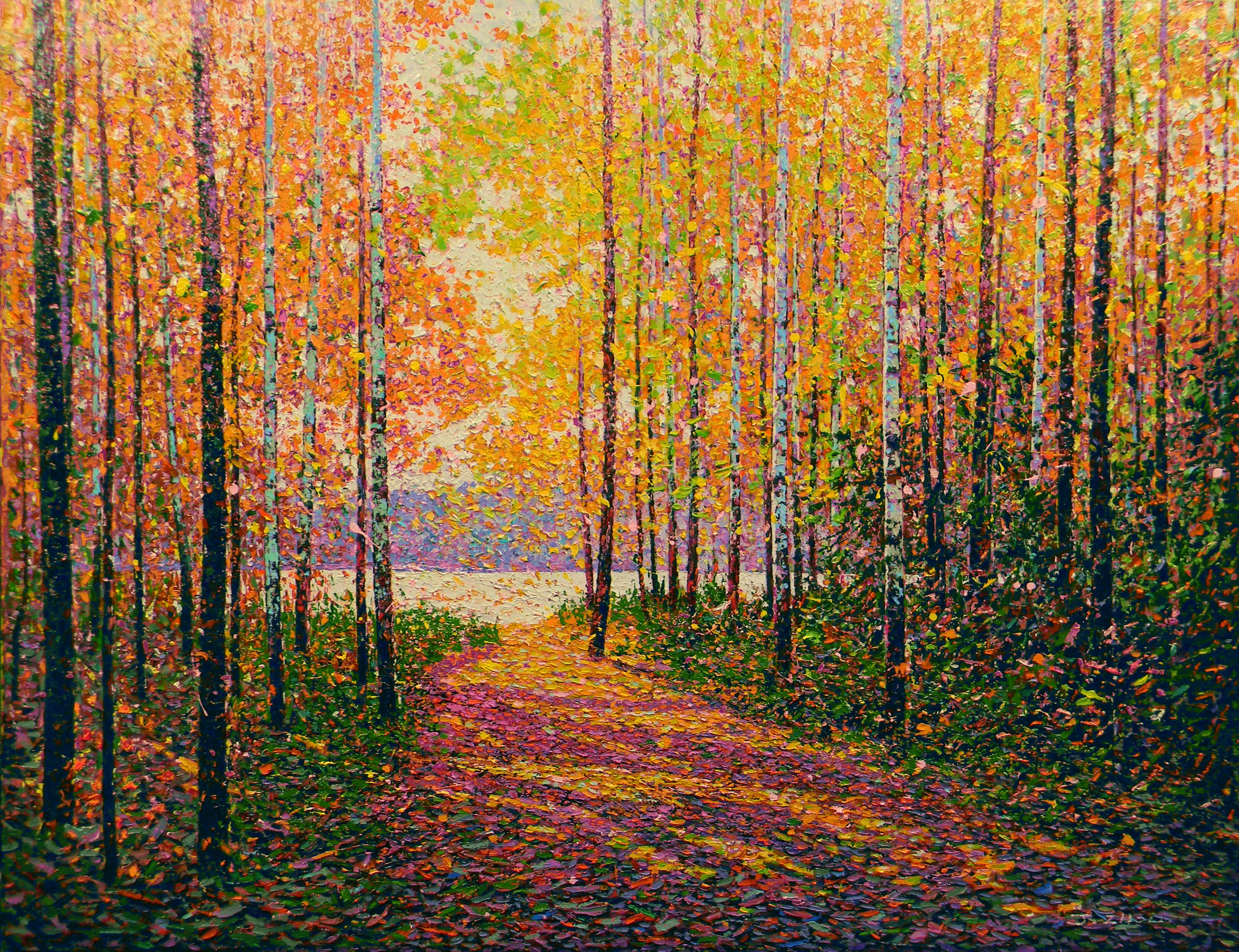 Autumn Sun II