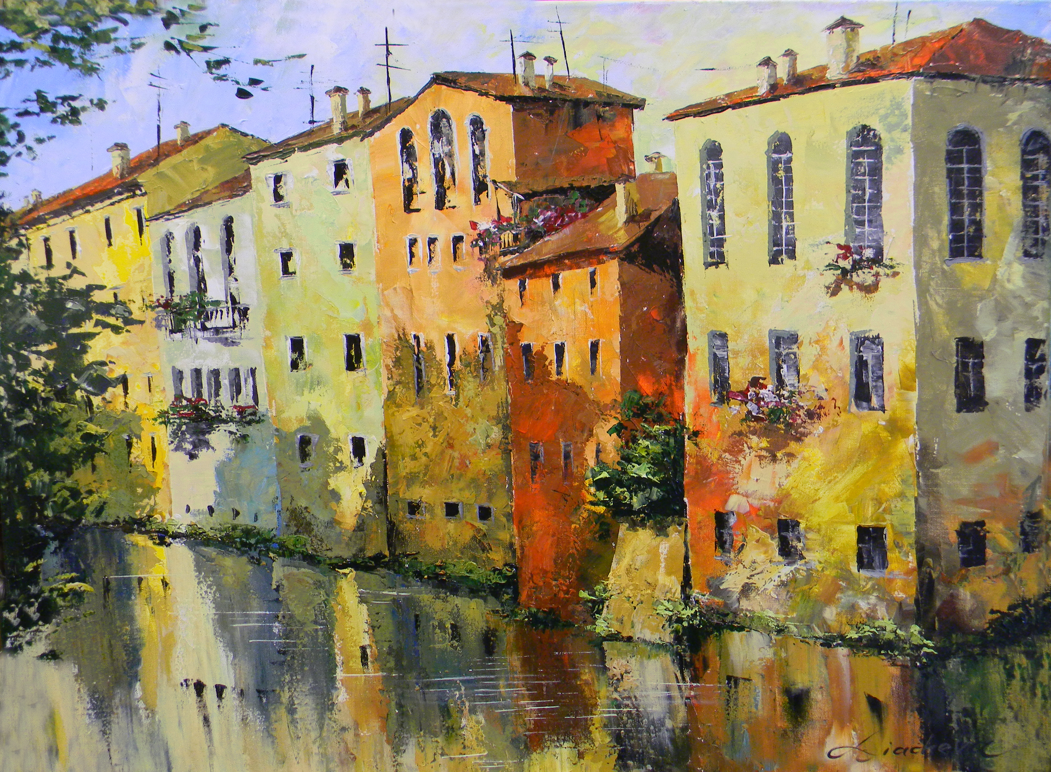 Tuscan Water Canal