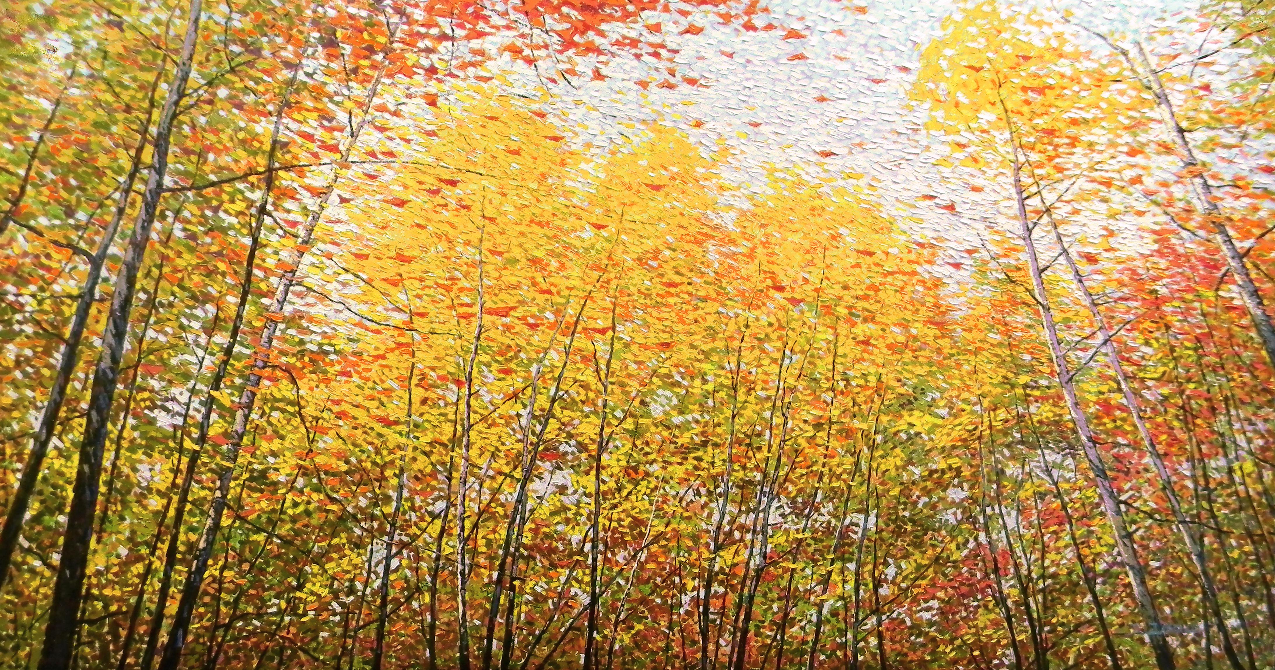 Drifting Leaves II