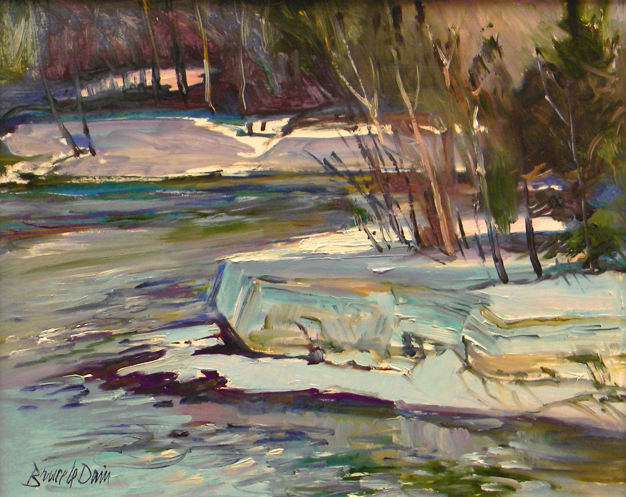Rushing Water, Rimouski, Quebec