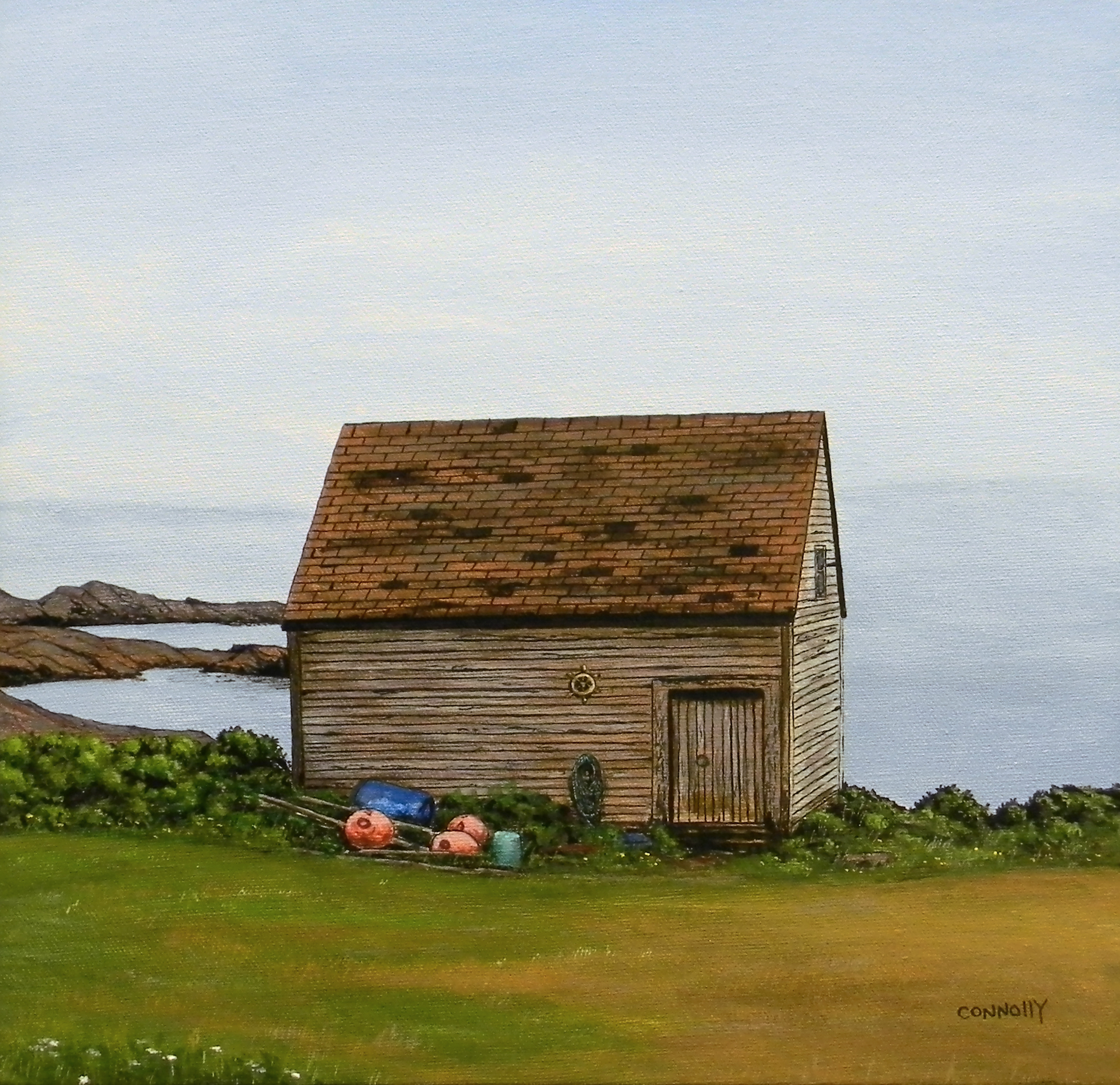 Old Shed in Conche