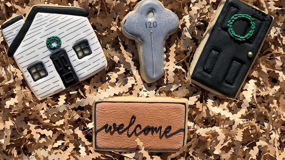 Welcome Home Cookie Gift Set