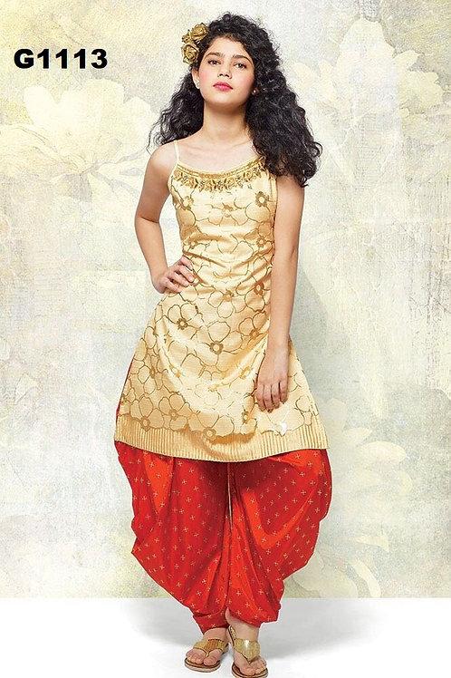 Girl's Patiala set - G1113
