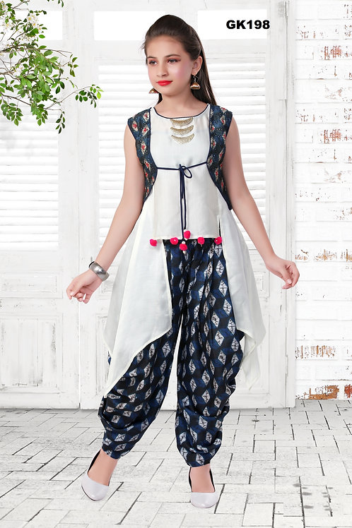 Girl's Kurthi with Legging - GK198