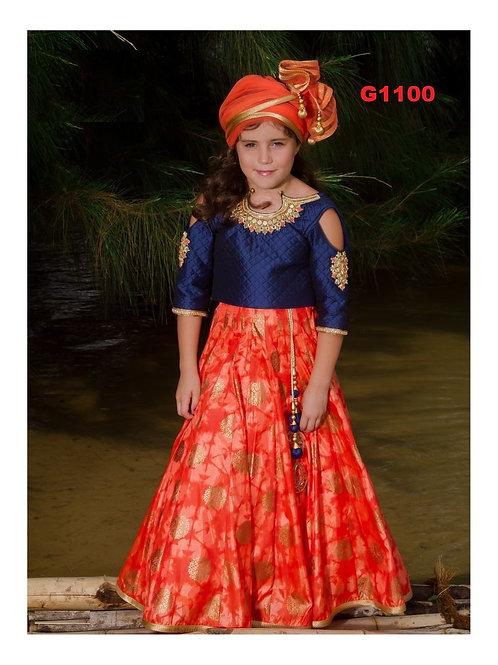 Girl's Lehenga Choli - G1100