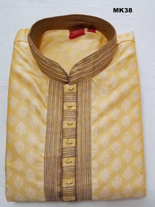 Men's Silk Kurta Pajama - MK38