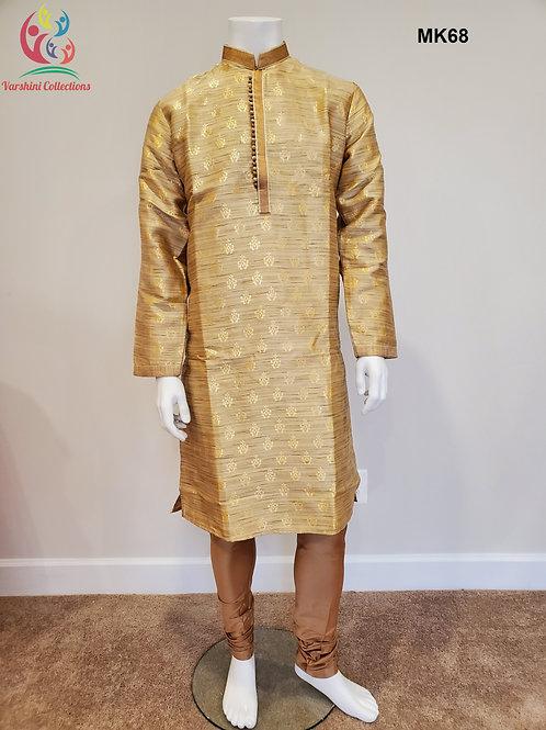 Men's Silk Kurta Pajama - MK68