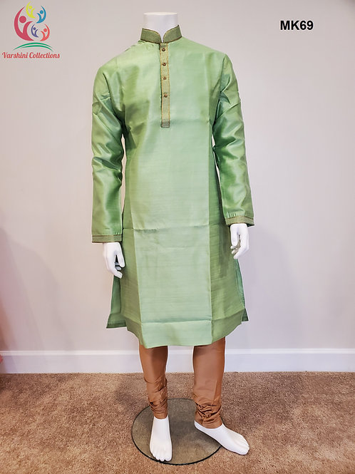 Men's Silk Kurta Pajama - MK69