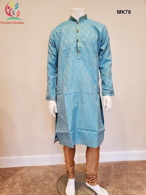 Men's Silk Kurta Pajama - MK78