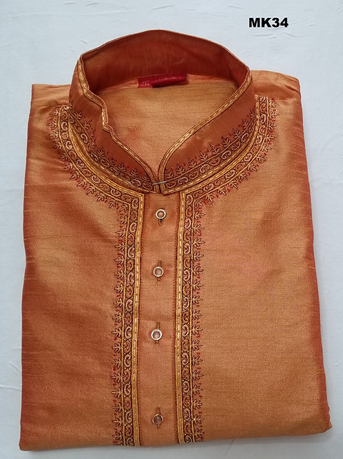 Men's Silk Kurta Pajama - MK34