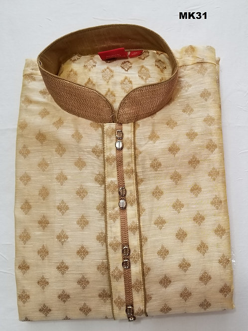 Men's Silk Kurta Pajama - MK31