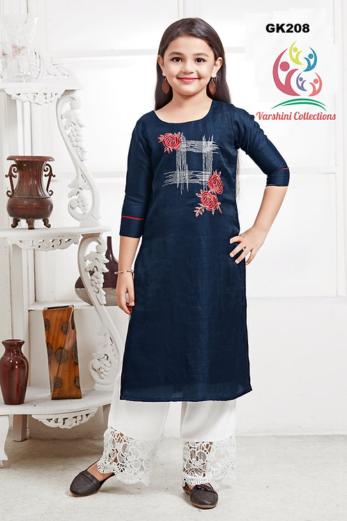Girl's Kurthi with Legging - GK208