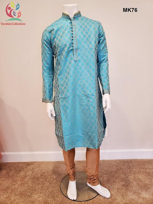 Men's Silk Kurta Pajama - MK76