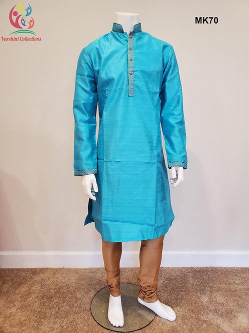 Men's Silk Kurta Pajama - MK70