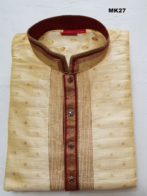Men's Silk Kurta Pajama - MK27