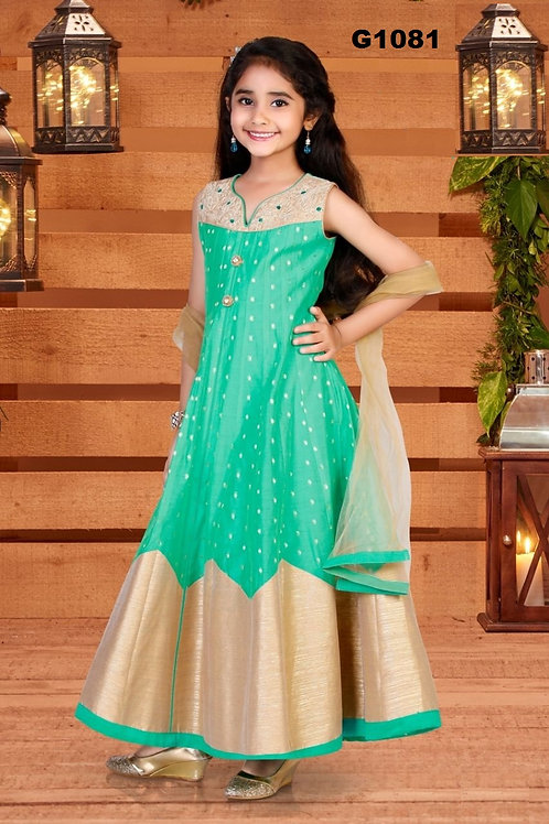 Girl's Anarkali Dress - G1081
