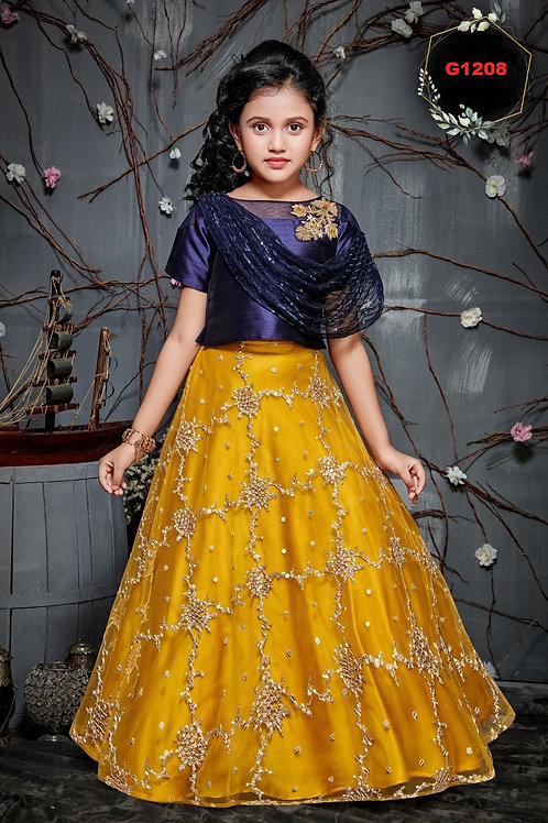 Girls Lehenga Choli - G1208