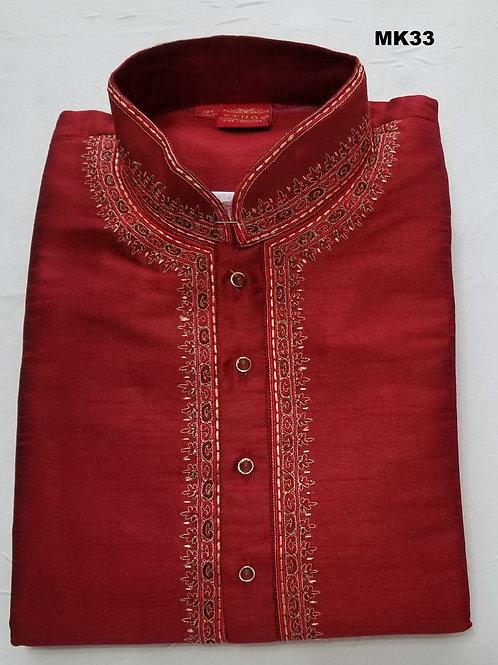 Men's Silk Kurta Pajama - MK33
