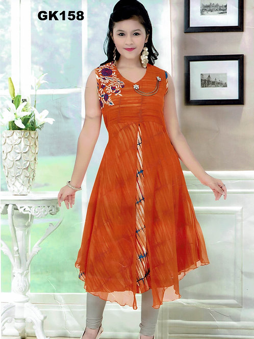 Girl's Kurthi with Legging - GK158