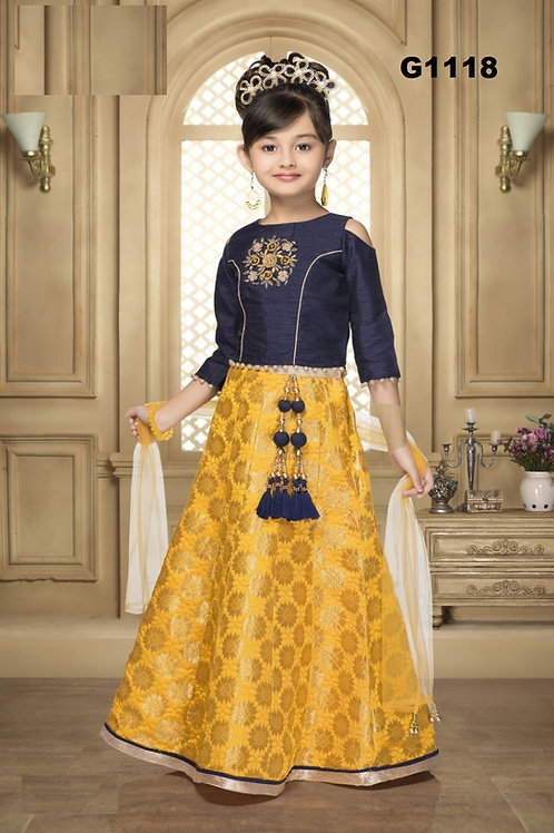 Girl's Lehenga Choli - G1118