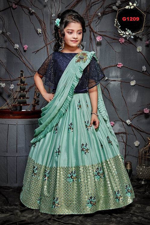 Girls Lehenga Choli - G1209
