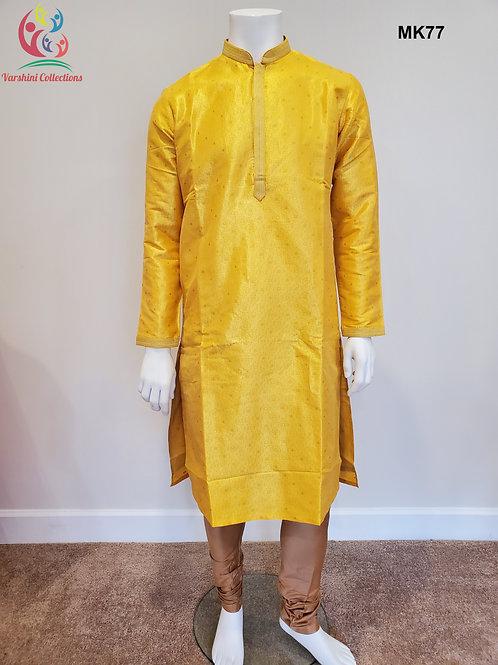 Men's Silk Kurta Pajama - MK77