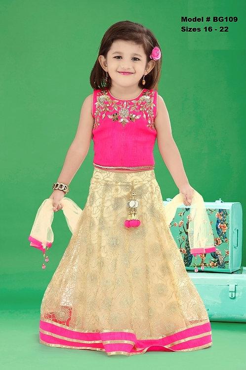 Baby Girl's Lehenga Choli - BG109
