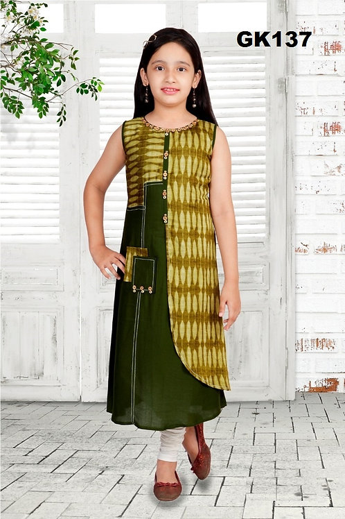 Girl's Kurthi with Legging - GK137
