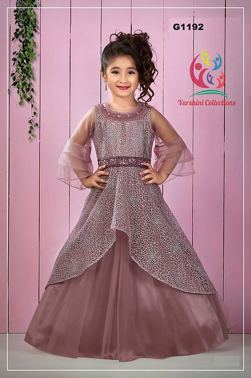 Girls Long Gown - G1192