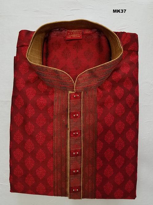 Men's Silk Kurta Pajama - MK37
